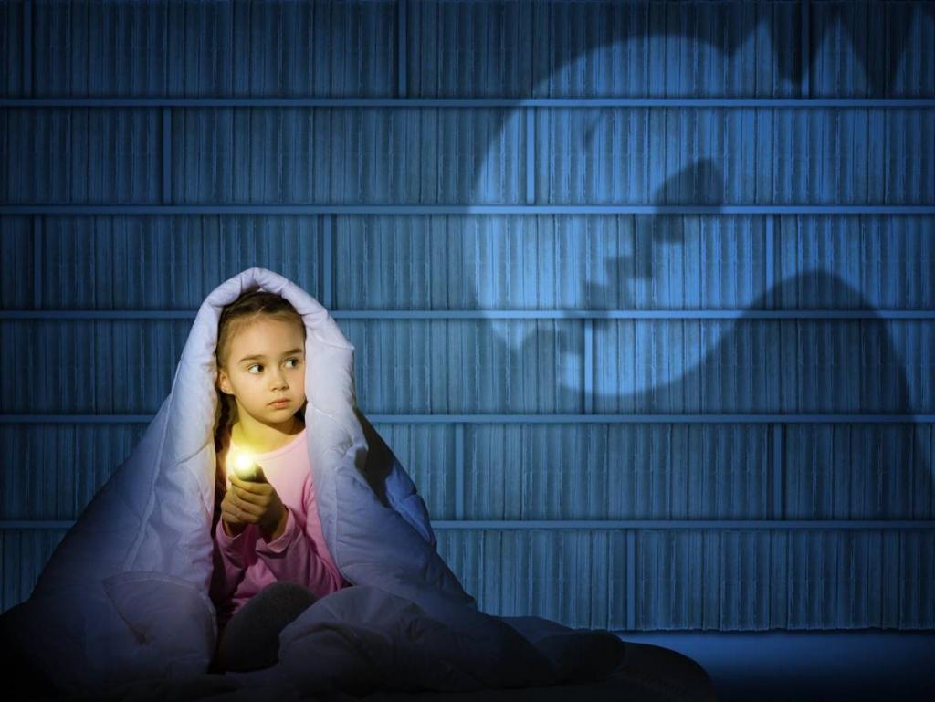 причины детского испуга